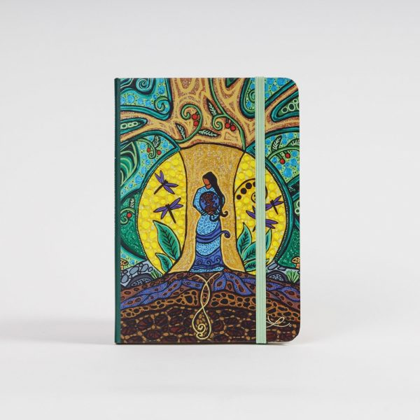 strong earth woman notebook