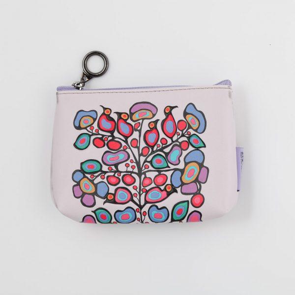 woodland floral change purse