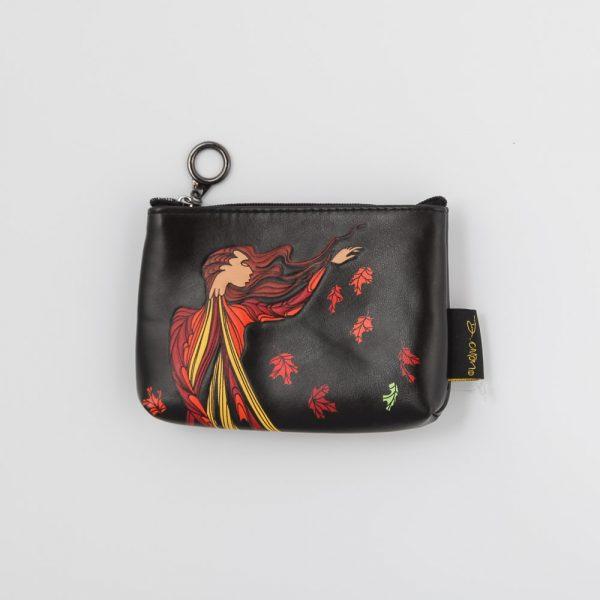 leaf dancer change purse