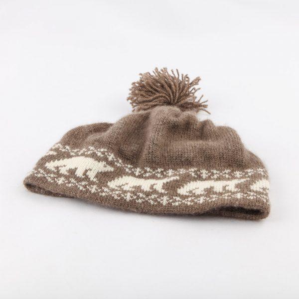 muskox bear hat