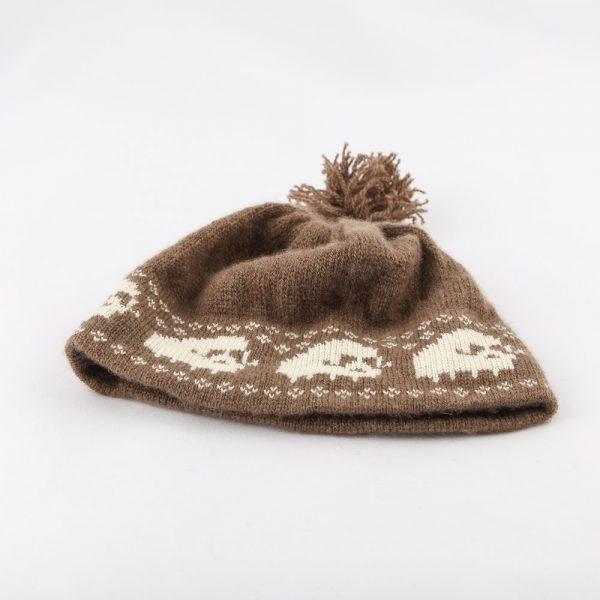 muskox white design hat