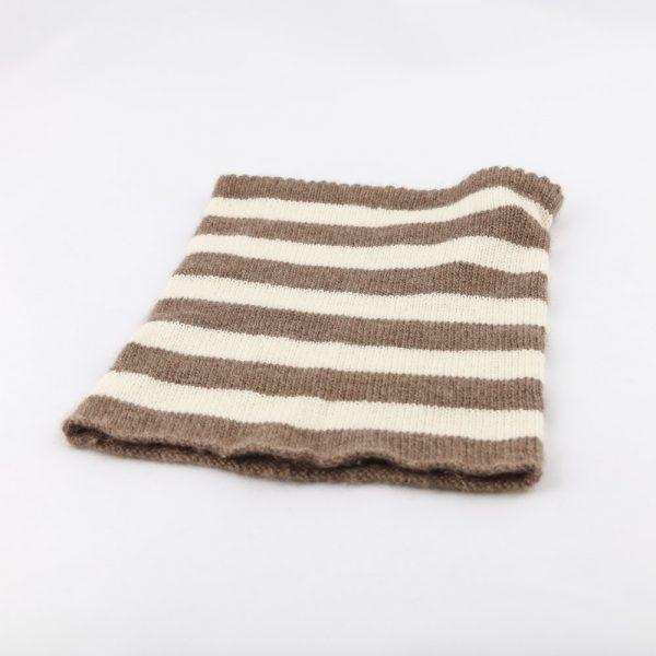 striped neck warmer